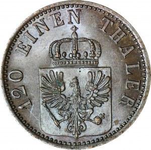Brandenburgia-Prusy, Wilhelm I, 3 Fenigi 1867 A