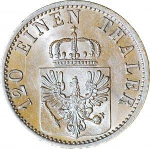 Brandenburgia-Prusy, Wilhelm I, 3 Fenigi 1873 C