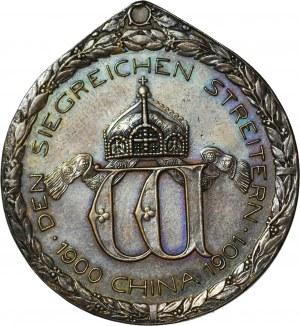 Niemcy kolonia w Kiautschou, Wilhelm II, Za zasługi w tłumieniu powstania bokserów 1900-1901