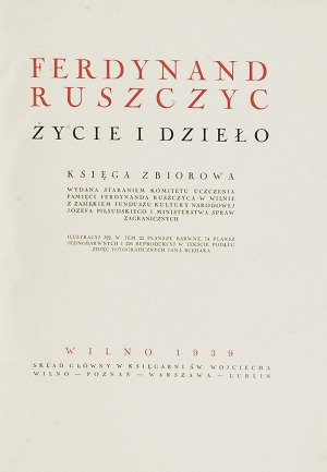 Ferdynand RUSZCZYC (1870-1936), Życie i dzieło