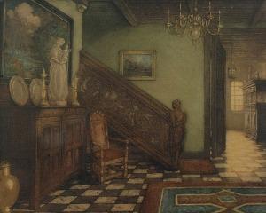 Stefan NORBLIN (1892-1952), Wnętrze domu patrycjusza