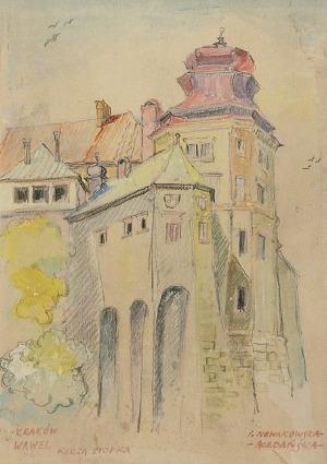 Irena NOWAKOWSKA-ACEDAŃSKA (1906-1983), Kraków - Wawel, Kurza Stopka