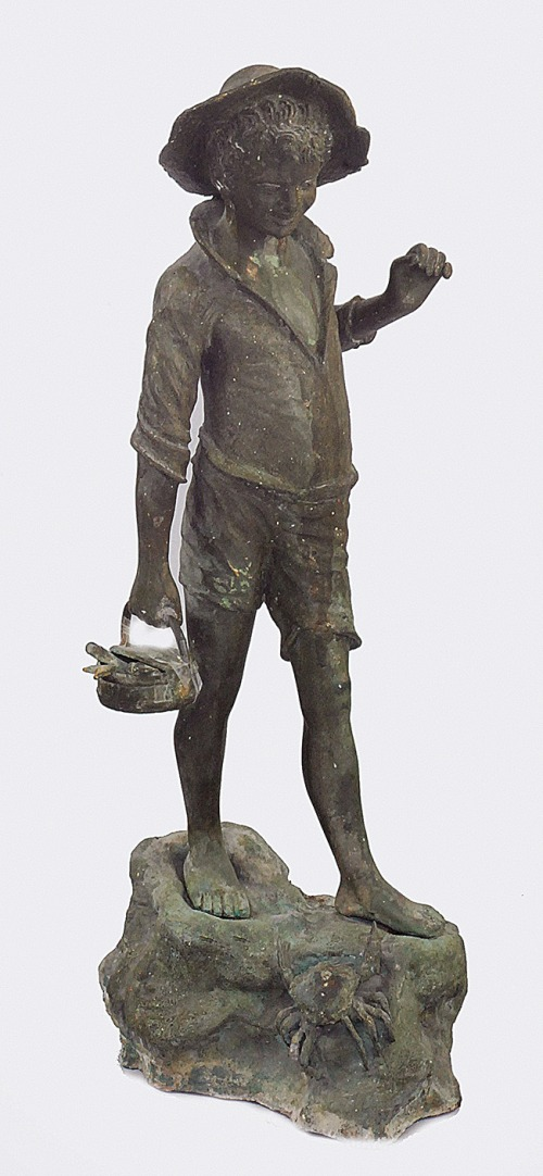 GIOVANNI DE MARTINO (1870-1938), Mały rybak