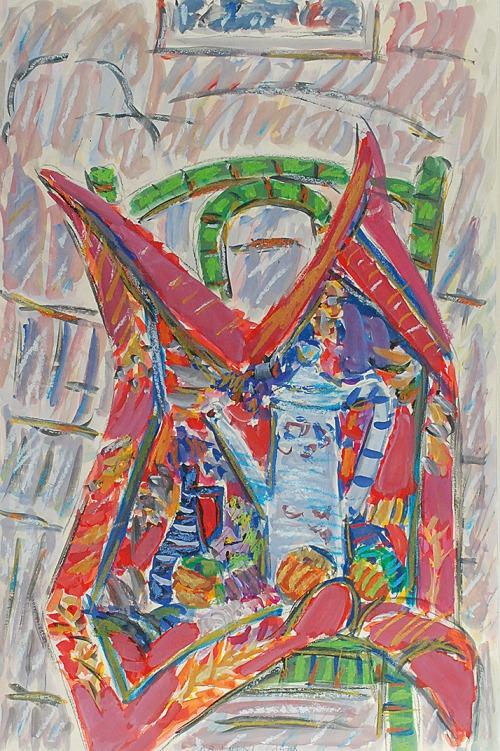Jerzy LUBAŃSKI (1925-2005), Martwa natura, 1978