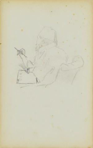 Stanisław Chlebowski (1835-1884), Studium postaci i trzy głowy męskie