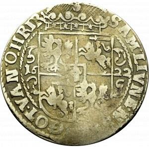 Sigismund III, 18 groschen 1622, Bromberg - PRVS M
