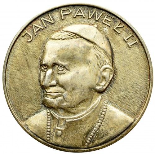 PRL, Medal z okazji niedoszłej II Pielgrzymki Papieża do Polski 1982, srebro