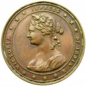 British India, Medal for the jubilee of 50 years of reign Queen Victoria