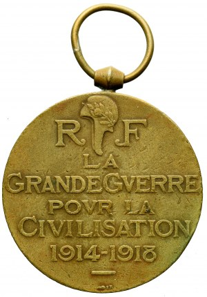 France, The WWI Victory Medal