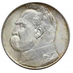 II Rzeczpospolita, 10 złotych 1939 Piłsudski
