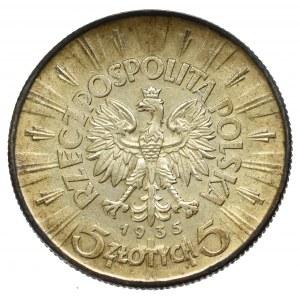 II Rzeczpospolita, 5 złotych 1935 Piłsudski