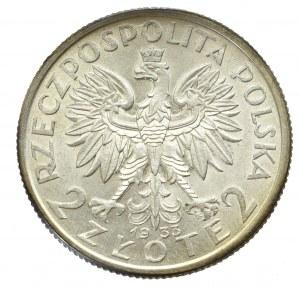 II Republic of Poland, 2 zloty 1933 Polonia
