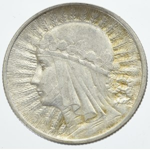 II Rzeczpospolita, 2 złote 1933 Głowa kobiety