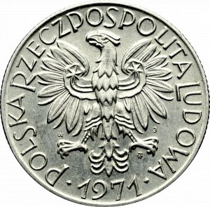 PRL, 5 złotych 1971 Rybak