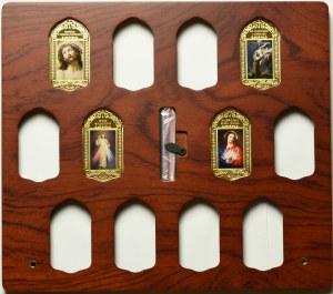 III RP, Zestaw 4 medali Najpiękniejsze wizerunki Chrystusa
