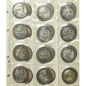 Nefryt, Komplet Kopii talarów polskich - 36 egz w tym 32 srebro
