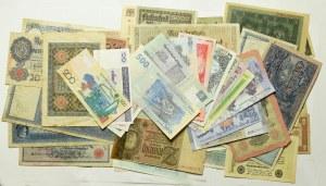 Zestaw banknotów zagranicznych (64 egz)