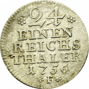 Germany, Preussen, 1/24 thaler 1756 F