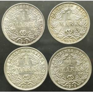 Niemcy, Zestaw 1 marka