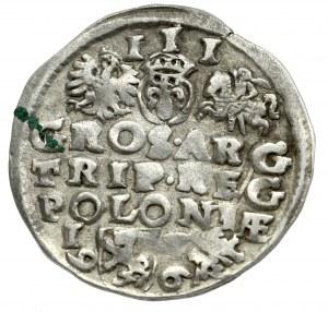Zygmunt III Waza, Trojak 1596, Lublin - leżąca 9