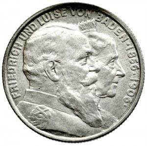 Niemcy, Badenia, 2 Marki 1906