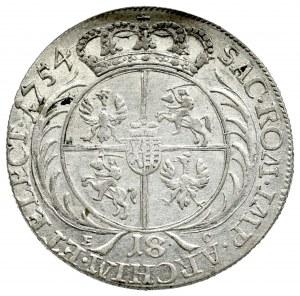 August III Sas, Ort 1754