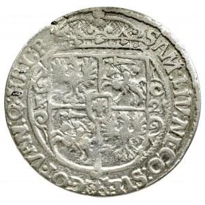 Zygmunt III Waza, Ort 1621, Bydgoszcz - rzadkość PRV MA oznaczenie nominału