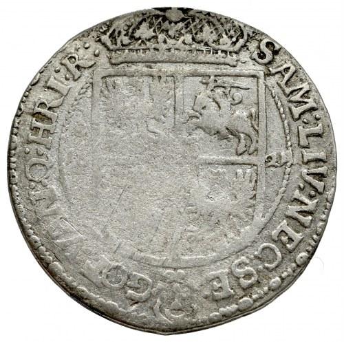 Zygmunt III Waza, Ort 1621, Bydgoszcz - RZADKOŚC tarcze bez labrów