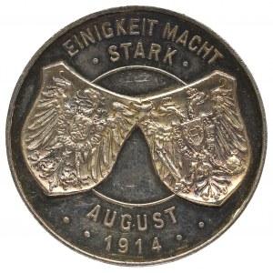 Medal sojuszu Austrii i Prus w I Wojnie Światowej 1914