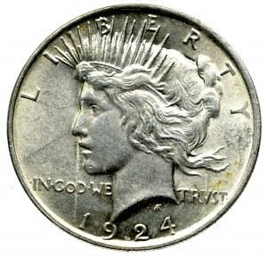 USA, 1 Peace dolar 1924