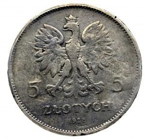 II Rzeczpospolita, 5 złotych 1928 BZM Nike