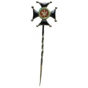 II RP, Miniatura Krzyża Kawalerskiego Orderu Wojennego Virtuti Militari