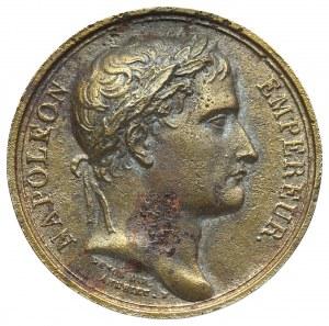 Francja, Napoleon I, Medal - późniejsza odbitka(?)