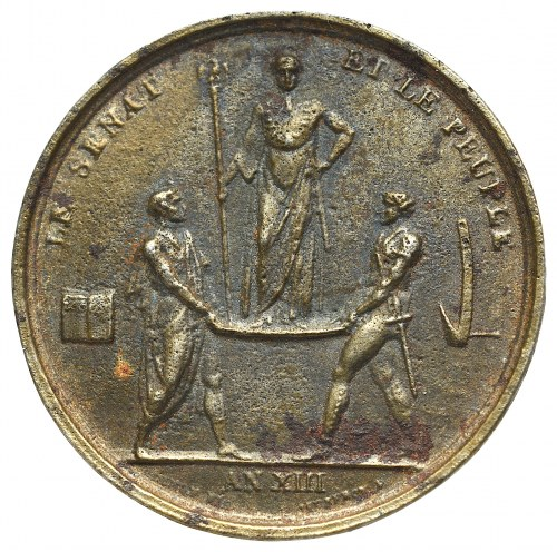France, Napoleon I, Medal - later print (?)