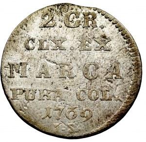 Stanislaus Augustus, 2 groschen 1769