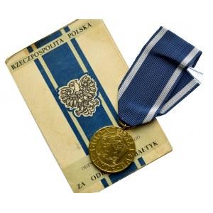 PRL, Medal Za Odrę, Nysę, Bałtyk z legitymacją
