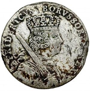 Germany, Prussia, Friedrich II, 18 groschen 1758 A, Berlin