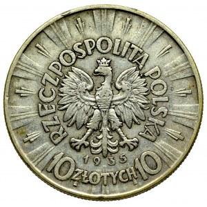 II Rzeczpospolita, 10 złotych 1935 Piłsudski