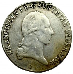 Węgry, Franciszek I, Talar 1822 B, Kremnica