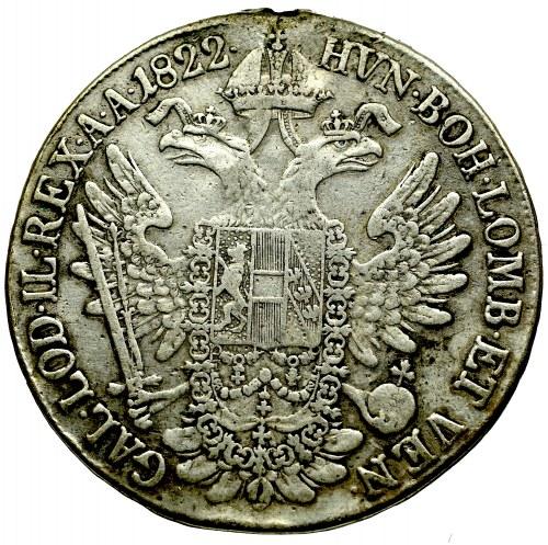 Hungary, Franz I, Thaler 1822 B, Kremnitz