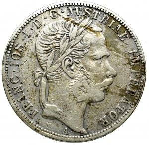 Austria-Hungary, Franz Joseph, 2 florins 1869