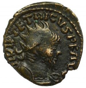 Cesarstwo Rzymskie, Naśladownictwo antoniniana Tetryka II