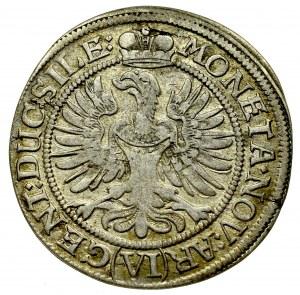 Śląsk, księstwo legnicko-brzesko-wołowskie, Ludwika (regentka), 6 krajcarów 1673, Brzeg