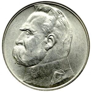 II Rzeczpospolita, 10 złotych 1936 Piłsudski - NGC MS62