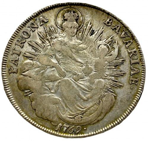 Niemcy, Bawaria, Maksymilian III Józef, talar 1769, Monachium