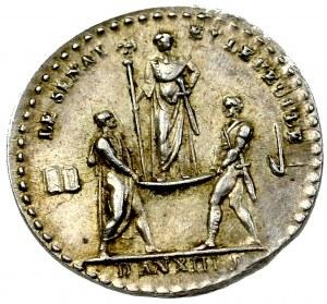 Francja, Napoleon I, Medal Le senat et le Peuple