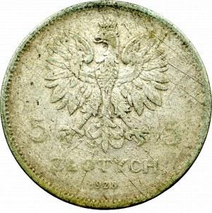 II Rzeczpospolita, 5 złotych 1928 Nike