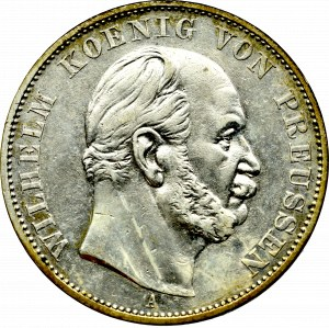 Germany, Preussen, Wilhelm I, Sieges thaler 1871, Berlin