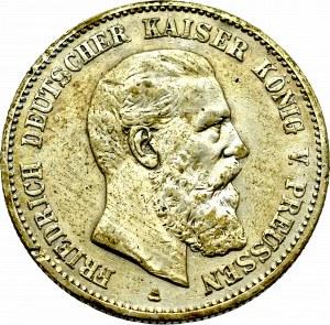 Niemcy, Prusy, 2 marki 1888