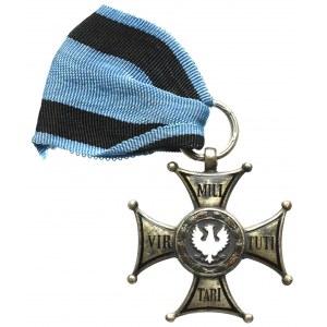 PRL, Krzyż srebrny Orderu wojennego Virtuti Militari - nieukończony Mennica